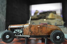 1:18 1929 Ford Roadster Model A Barn Find Unrestored RAT ROD HOT Patina Diecast