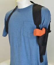Vertical Carry Shoulder Holster for HI POINT 9mm & 380 Comp, Black