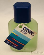 Dana FATHOM For Men COLOGNE Splash Mini Miniature ..5 oz 15ml NEW