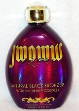 NEW AUSTRALIAN GOLD JWOWW NATURAL BLACK BRONZER INDOOR TANNING LOTION