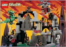LEGO 6087 - Castle: Dragon Knights - Witch's Magic Manor - 1997 - NO BOX
