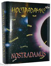 """New Russian Mini Book Nostradamus """"Predictions"""" Collectors Mimiature"""
