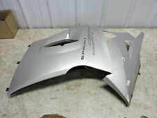 05 Triumph Sprint ST 1050 left side cover cowl fairing panel body