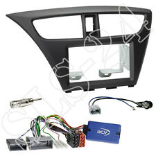 Honda Civic FK2/FK3 ab02/2014 Doppel 2-DIN Blende+Sony Lenkrad Radio Adapter Set