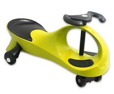 Twistcar Roller Twist Car Kids Ride On Wiggle Outdoor Play Swing Vehicle Yellow