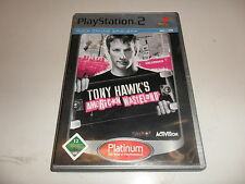 PlayStation 2  PS 2  Tony Hawk's American Wasteland [Platinum]