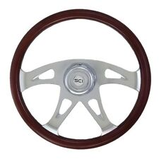 "18"" 4 Spoke ""Ace"" Steering Wheel 3-Hole for Freightliner, Peterbilt,KW + more!"