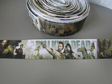 Walking Dead Ribbon 2.5cm X 1 Metre   Sewing/Crafts/Cake