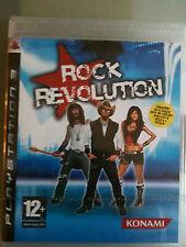 ROCK REVOLUTION PS3 SIGILLATO GIOCO MANUALE E COPERTINA IN ITALIANO