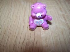 Mini Share Bear Care Bear PVC Toy Cake Topper Lollipops Purple 1.5""
