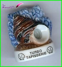 "Feve Les coquillages Shell Schale Edition Atlas "" Le Turbo Tapisserie "" #C57"