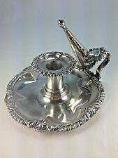 Antique George III Sheffield Plated Chamber Candlestick Matthew Boulton England