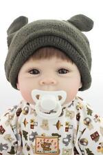 22'' Realistic Reborn Baby Doll Soft Silicone Lifelike Girl Boy Gift  55cm
