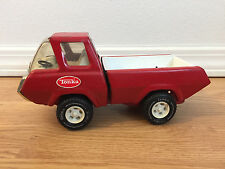"Vintage TONKA Red Van Pickup Truck Toy Car 60's 70's - 9"" - GREAT COLLECTIBLE!!!"