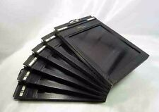 """Lot of 6"" Fidelity Deluxe 4x5 inch Cut Film holders"" From Japan"