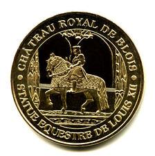 41 BLOIS Statue équestre de Louis XII, 2010, Monnaie de Paris