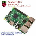 Raspberry Pi 3 - Model B - Brand New 2016 Wifi + Bluetooth 64bit 1.2GHz QuadCore
