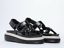 Dr. Martens Women LIMITED EDITION Aggy Agyness Black Sandal US 8 EU 39 UK 6