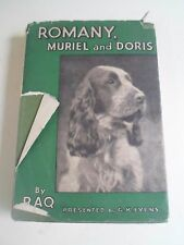 Romany, Muriel And Doris By Raq Presented by G K Evens 1950 Illustrator R Gammon