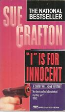 """SUE GRAFTON  """"I"""" IS FOR  INNOCENT"""