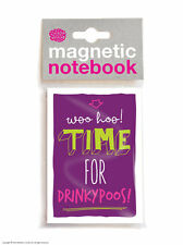 Brainbox Candy Drinkypoos fridge magnetic notebook/pad funny cheap present gift
