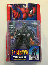 Spider-Man Green Goblin Figure with Missile-Launching Glider New Toy Biz 2004
