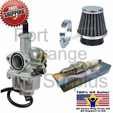 Carburetor & Air Filter Spark Plug Gas Filter Honda XR100 XR100R CRF100F Carb