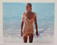 "BO DEREK Autographed Signed 11x14"" Photograph From Tarzan With JSA COA Certified"