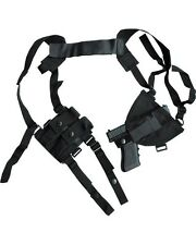 Shoulder Holster Black Covert CrossDraw Holster Close Protection Security Police