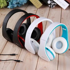 RED Wireless Bluetooth Foldable Headset Stereo  Earphone for Phone Tablet PC