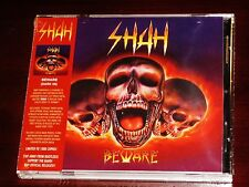 Shah: Beware - Limited Deluxe Edition CD 2016 Dark Symphonies USA DARK 59 NEW