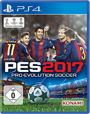PS4 Spiel Pro Evolution Soccer 2017 Sony Playstation 4 Spiel  PES 2017 Top Game
