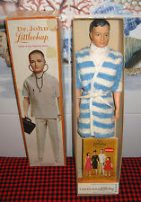 BRAND NEW inBOX~1963REMCO~DR.JOHN LITTLECHAP DOLL~1400~Box-Towel-Robe-Stand-Book