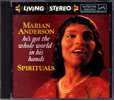 Marian ANDERSON: SPIRITUALS RCA Living Stereo 1994 USA CD Behold That Star