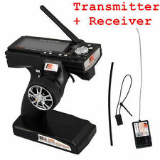 Flysky FS-GT3B 2.4G 3CH Transmitter + Receiver for RC Car Vehicle Radio Contr OY