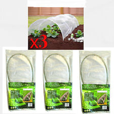 3X 1.5m Allotment Plant Protector Garden Polythene Tunnel Cloche Mini Greenhouse