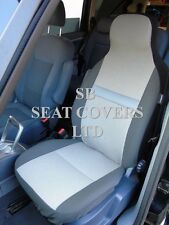 TO FIT A KIA RIO, CAR SEAT COVERS, SHEEN CLOTH FABRIC - 2 FRONTS