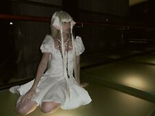 Chobits: XS/S Cute Chii Cosplay White Dress, Wig, Petticoat, Anime, Halloween