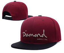 New Fashion Diamond SUPPLY CO Snapback Black cap style Baseball Hip-Hop Cool Hat