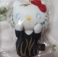 Hello Kitty Plush Doll Munch's scream Stuffed Animal Sanrio Japan Mascot Rare