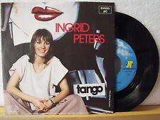 """7"""" Single - INGRID PETERS - Tango - Schwerelos - Jupiter 70er"""
