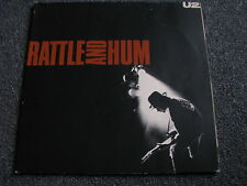 U2-Rattle and Hum LP-2 LPs-Made in Germany-Rock