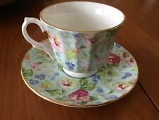 Crown Trent Fine Bone China Teacup And Saucer