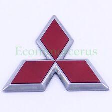 99 00 01 Mitsubishi Diamante Trunk Emblem Mark Diamond Red Rear Logo OEM