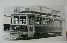 USA567 - EASTERN WISCONSIN Electric Co Railway TROLLEY No61 PHOTO - USA