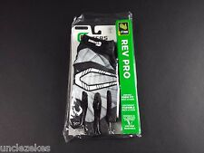 Cutters S450 Rev Pro Black and Grey Adult L Football Gloves