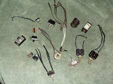 VINTAGE/ANTIQUE LOT OF SWITCHES LEVOLIER, WIRT CO. McGill Mfg. etc. READ