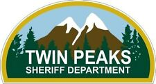 "Twin Peaks - Sheriff Department Sticker - 3.5"" x 6.5"""