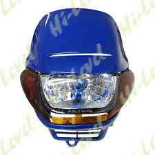 UNIVERSAL MOTORCYCLE  (  STREETFIGHTER STYLE ) FAIRING HEADLIGHT WITH INDICATORS