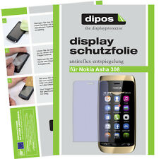 1x Nokia Asha 308 screen protector protection guard anti glare